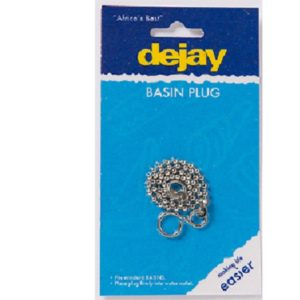 Basin Plug Self Sealing Pvc Dejay