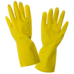 Gloves Household Pvc Yellow
