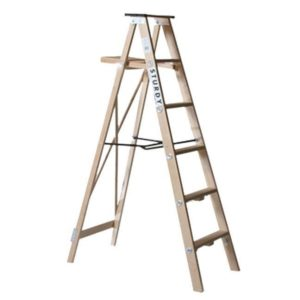 Ladder Wooden 7Ft