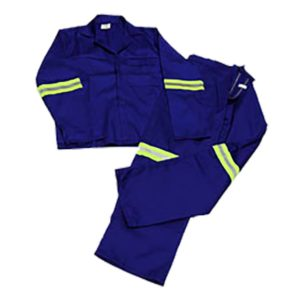 Worksuit Reflective Size 46 Blue Broson