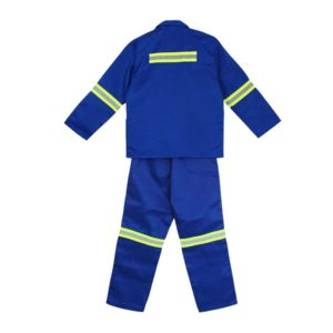 Worksuit Royal Blue  Size 38