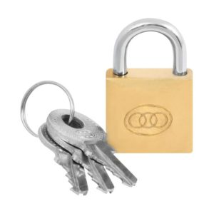 Padlock Brass 50Mm