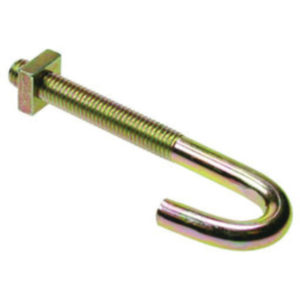 Hook Bolt  M6 X 80 Galv